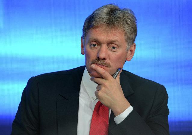 Le porte-parole du président russe Dmitri Peskov. Archive photo