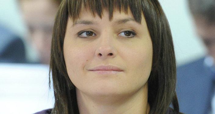 Olga Brusnikina. Archive photo