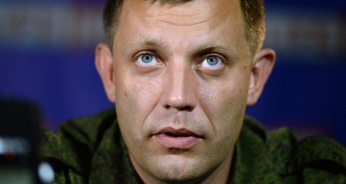 Le chef de la DNR Alexandre Zakhartchenko