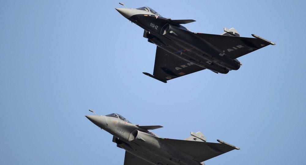 Les chasseurs français Dassault Rafale