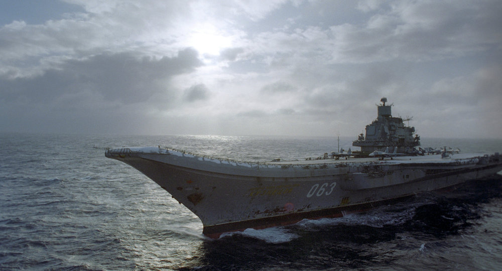 Porte-avions Amiral Kouznetsov