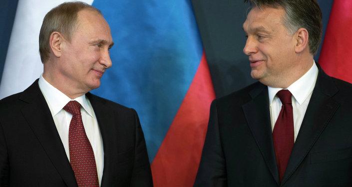 V. Poutine et V. Orban