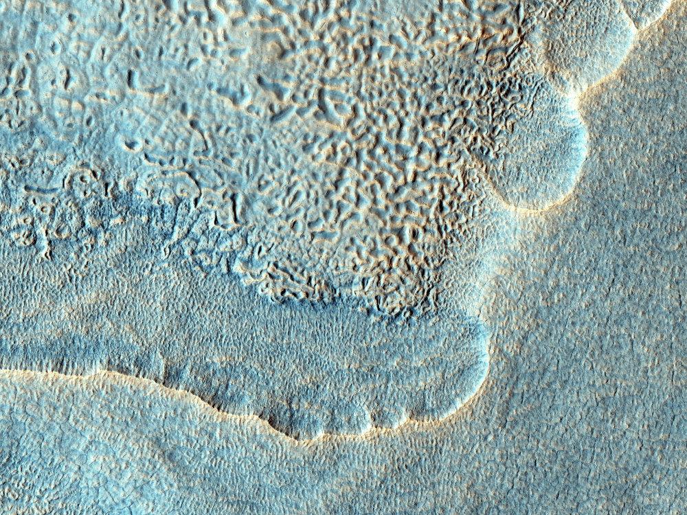 Les dunes de Mars