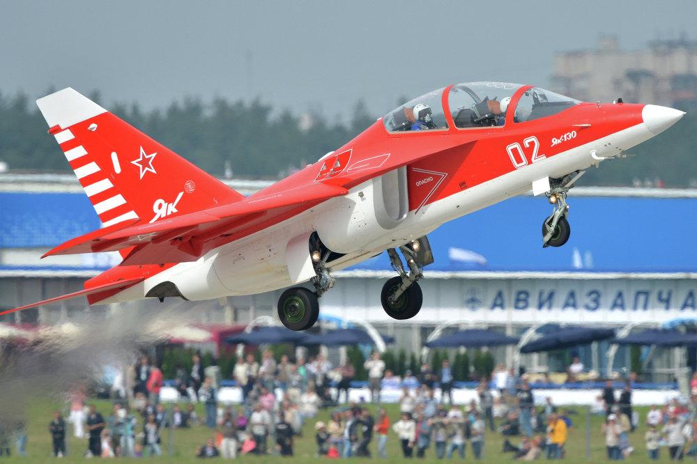 Le avion d'entraînement et de combat Iak-130