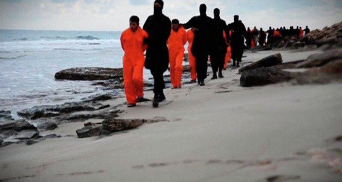 Chrétiens capturés par l'EI