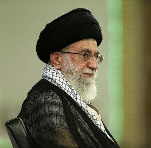 Le guide suprême iranien Ayatollah Ali Khamenei