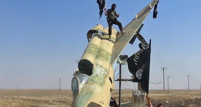 Combattants d'Etat islamique en Syrie