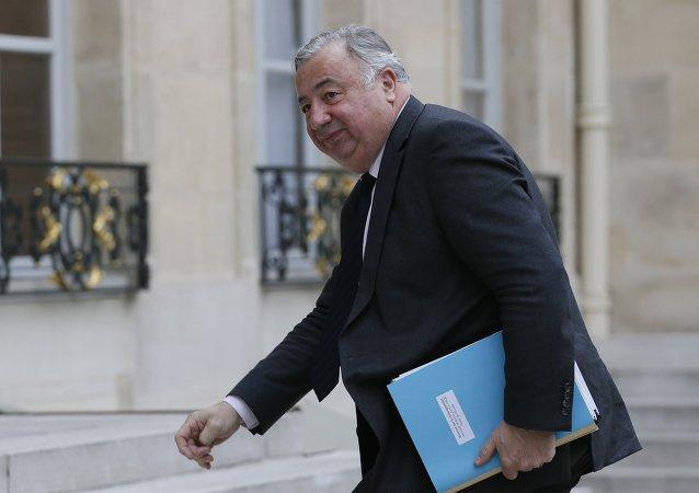 Le président du Sénat français Gérard Larcher