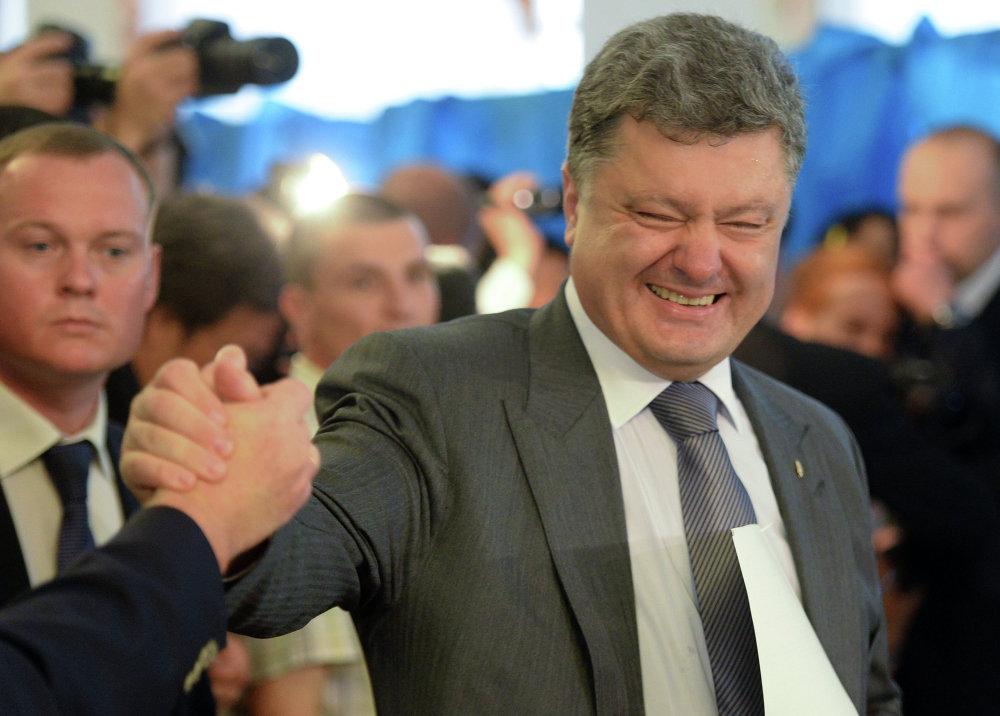 Le milliardaire Piotr Porochenko, candidat indépendant