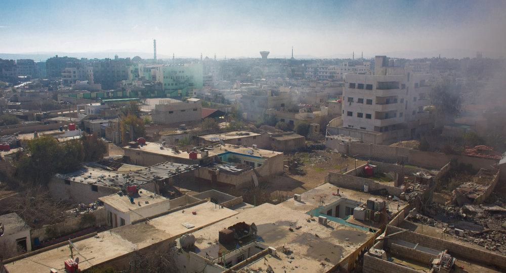 Vue sur le territoire occupé par les rebelles syriens dans la ville de Daraya (Archives)
