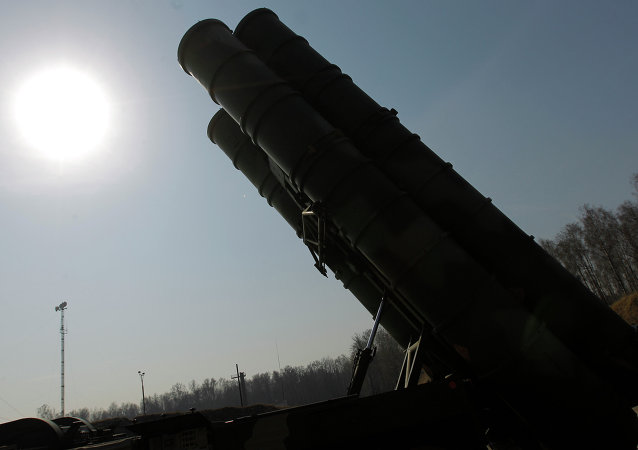 Missiles sol-air russes S-400 (Triumph) (Archives)