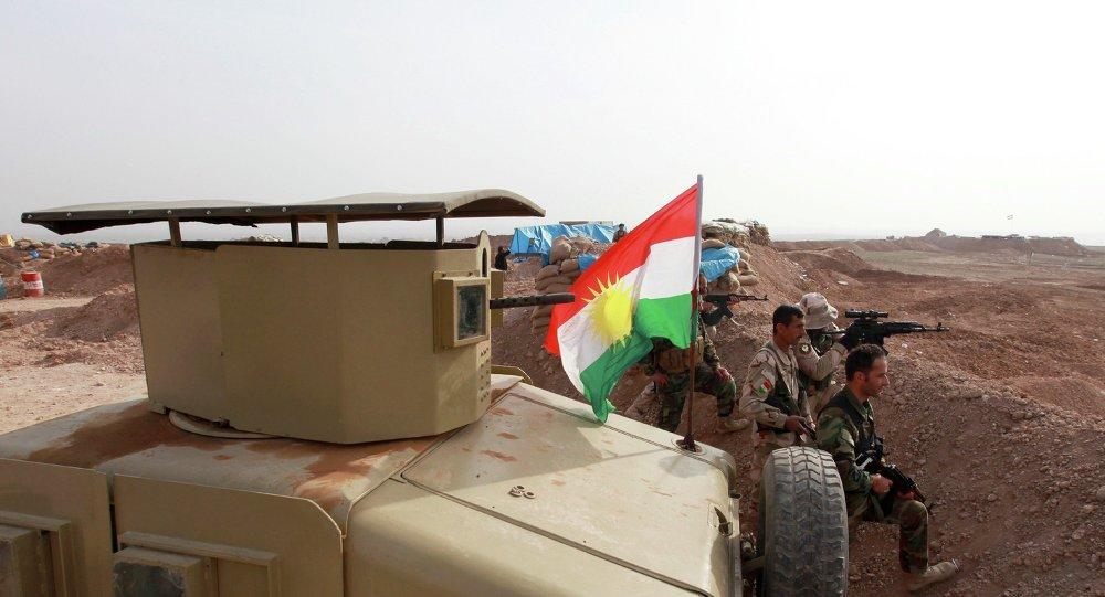 Les peshmergas kurdes
