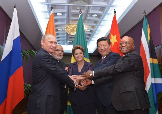 Les participants de BRICS. Archive photo
