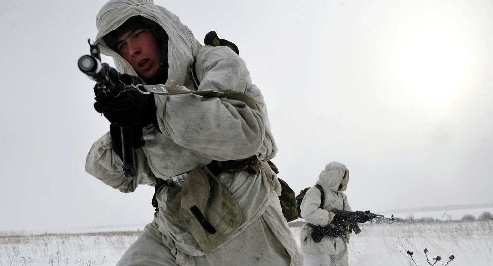 Brigade arctique russe: exercices en conditions extrêmes
