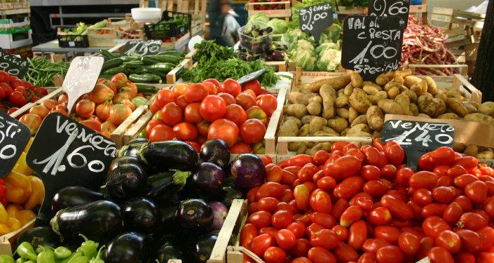 Légumes au marché en Italie