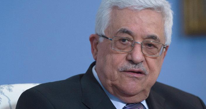Le président de l'Autorité palestinienne Mahmoud Abbas