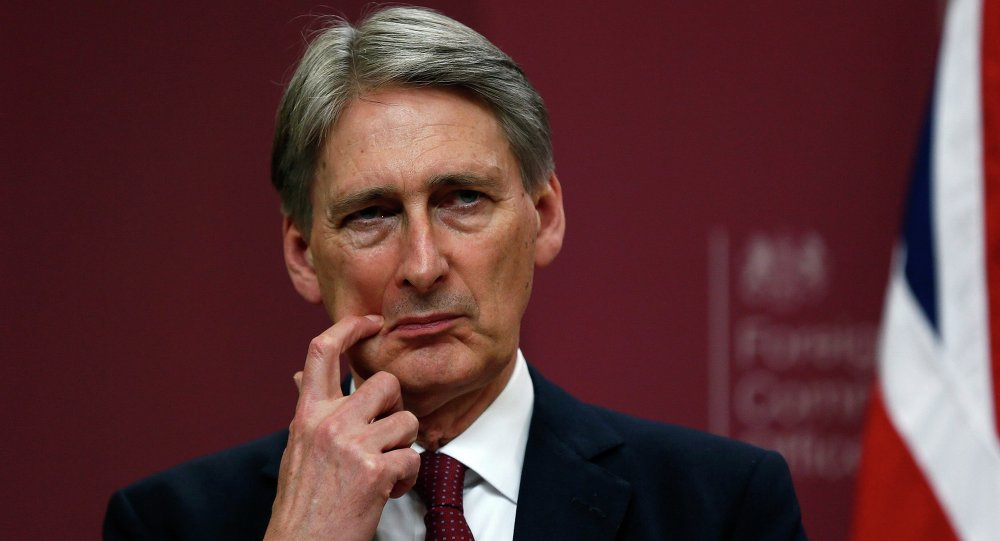 Philip Hammond. Archive photo