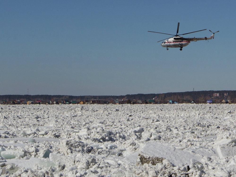 Les glaces se brisent dans la région de Tomsk