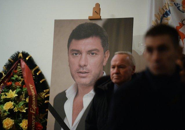 Les adieux à Boris Nemtsov à Moscou