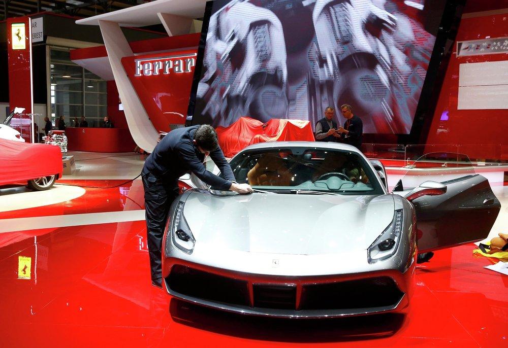Une version modernisée de la 458 Italia (Ferrari)