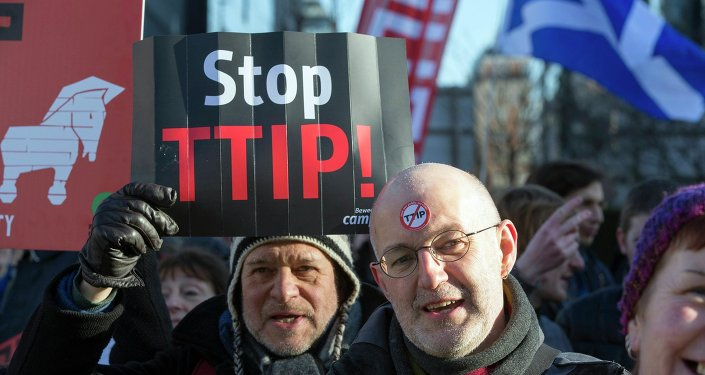 Protestation contre le TTIP (archives)