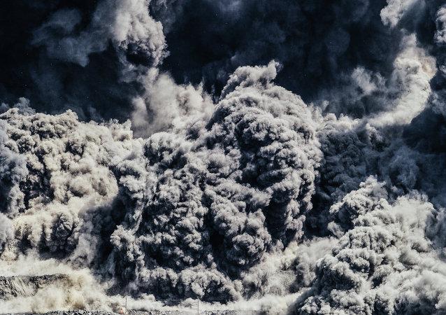Une explosion