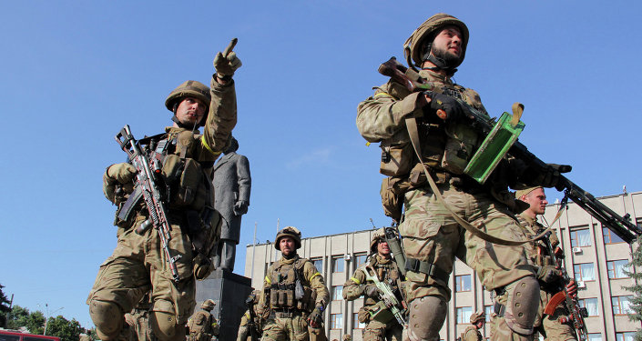 Les militaires ukrainiens