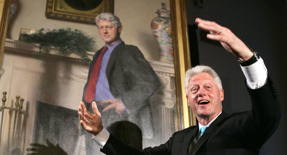 L'ancien président américain Bill Clinton