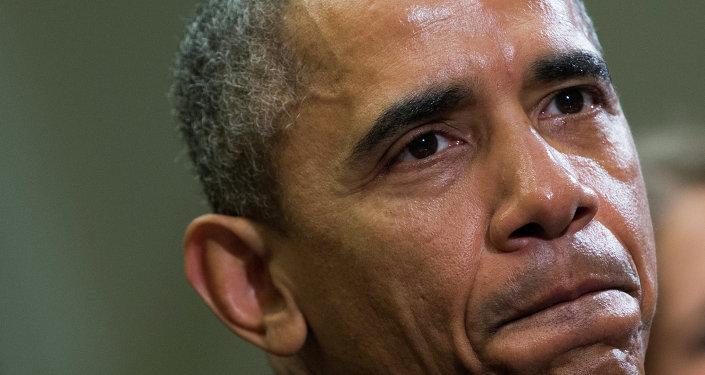 Le président des Etats-Unis Barack Obama