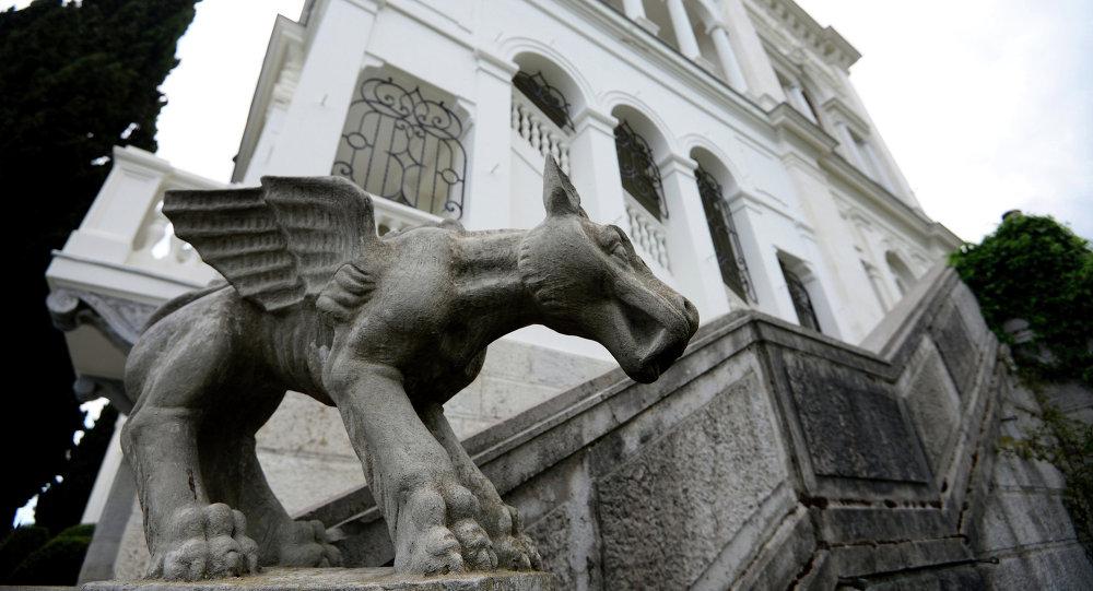 Le palais de Livadia en Crimée