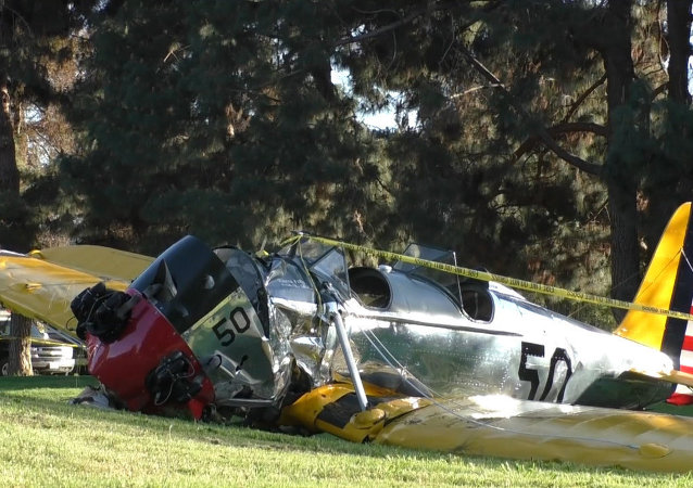 L'avion de Harrison Ford s'écrase près de Los Angeles
