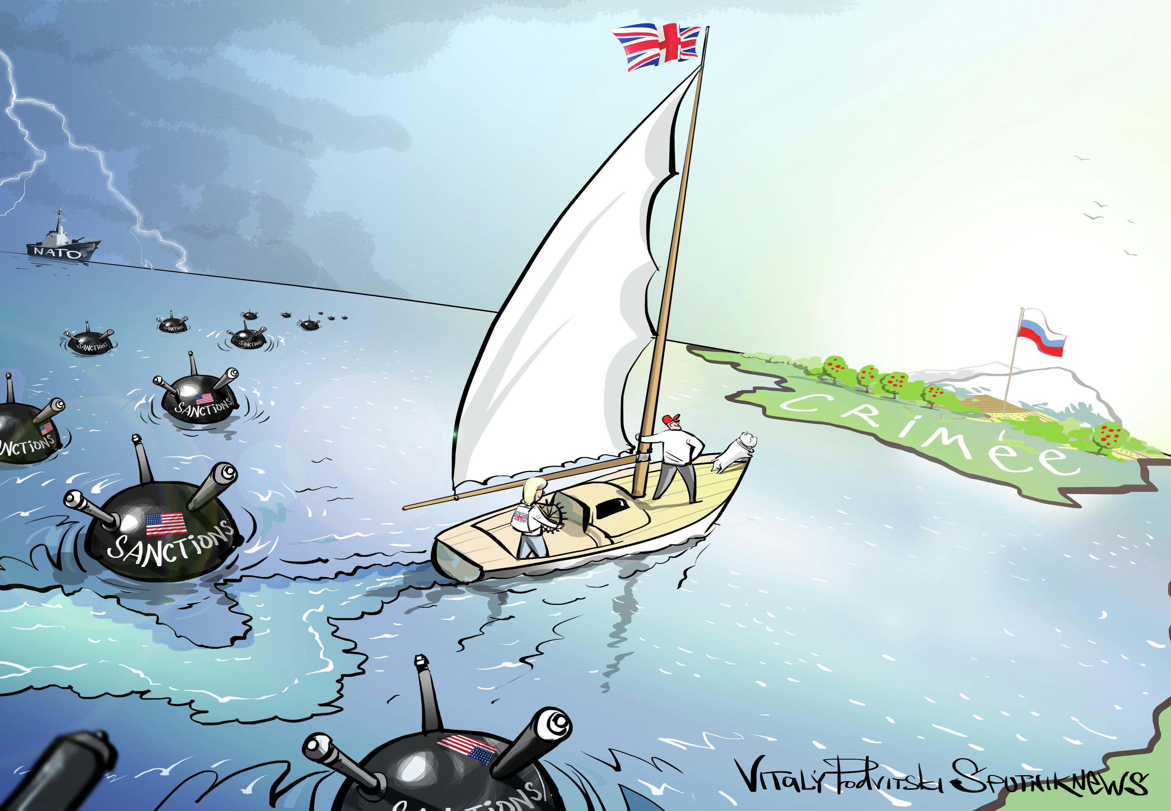 La Crimée, contre vents et marées