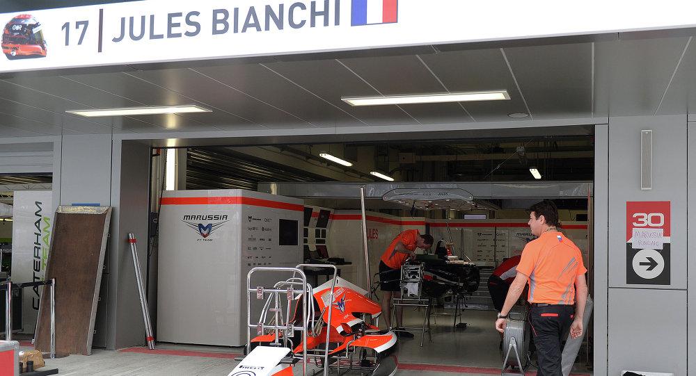 Préparation au 1er GP de Russie de Formule 1