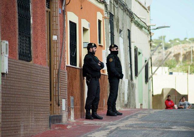Garde civile espagnole