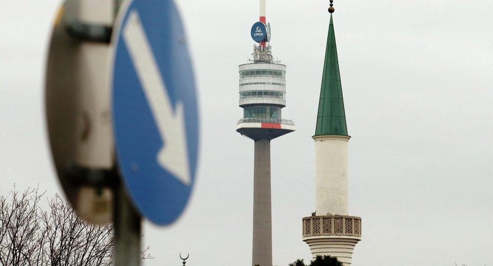 Une mosquée de Vienne