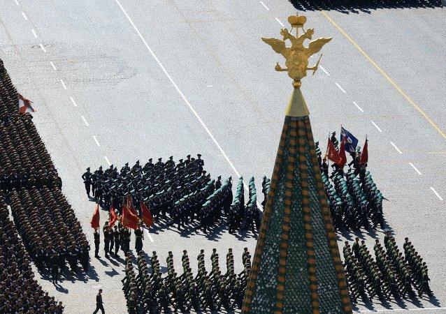 Parade de la Victoire à Moscou (Archives)