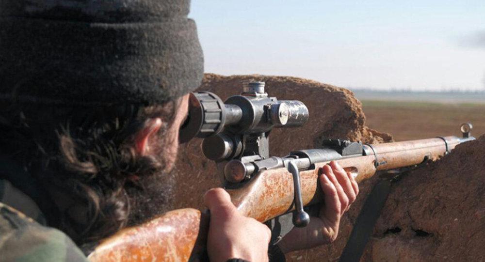 Sniper, Tal Tamr, Hassakeh, Syria
