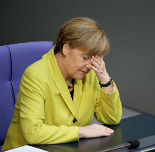 Angela Merkel. Archive photo