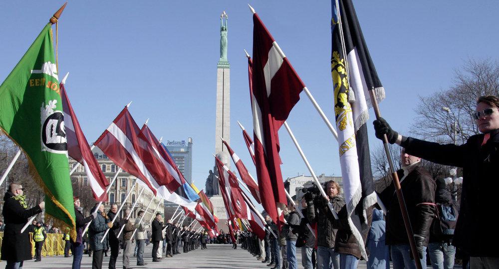 Défilé de vétérans de la légion lettone SS à Riga (archives)