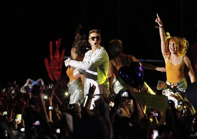 Chanteur canadien Justin Bieber