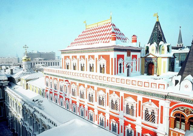 Palais des Térems au Kremlin de Moscou
