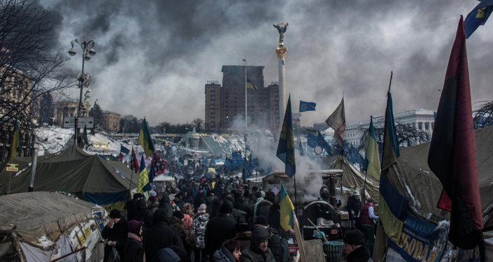 Ukraine: les Etats-Unis, les vrais meneurs du coup d'Etat, selon Poutine