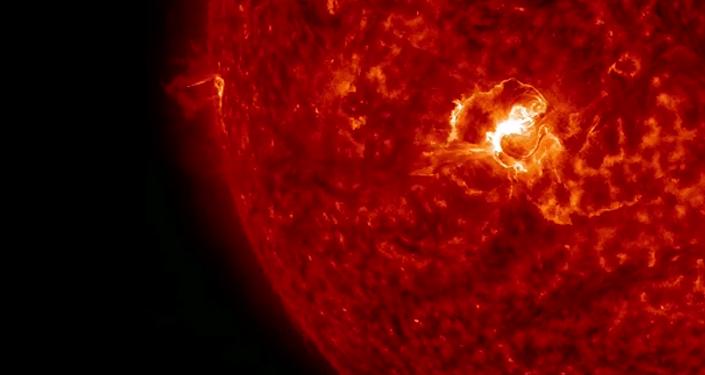 La plus grosse éruption solaire de l'année
