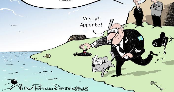 La Suède lance une chasse aux sous-marins russes
