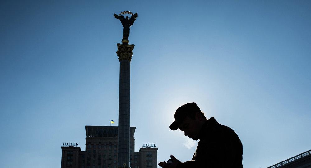 La place de l'Indépendance (Maïdan Nezalezhnosti) à Kiev