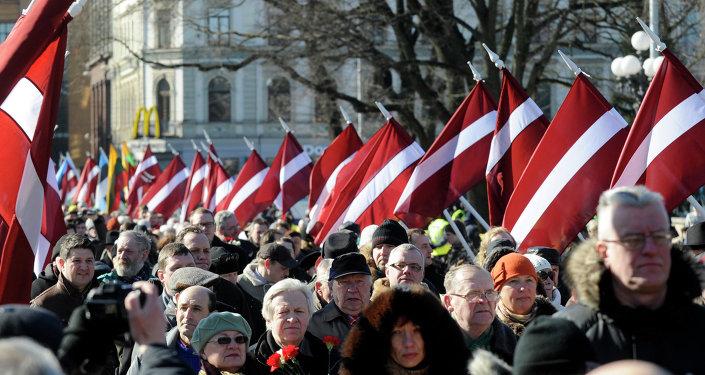 Marche à Riga