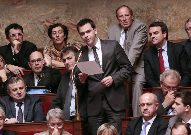 Olivier Véran, député de l'Isère. Archive photo