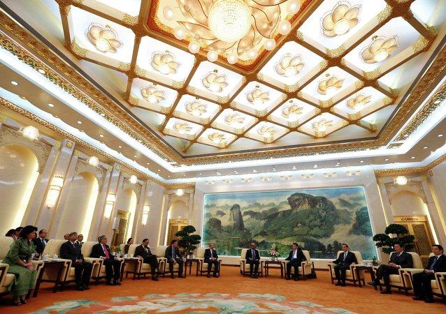 Banque asiatique d'investissement dans les infrastructures (AIIB). Archive photo