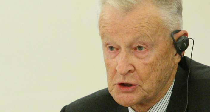 L'analyste politique américain Zbigniew Brzezinski