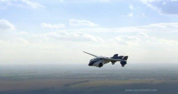 Présentation d'une voiture volante